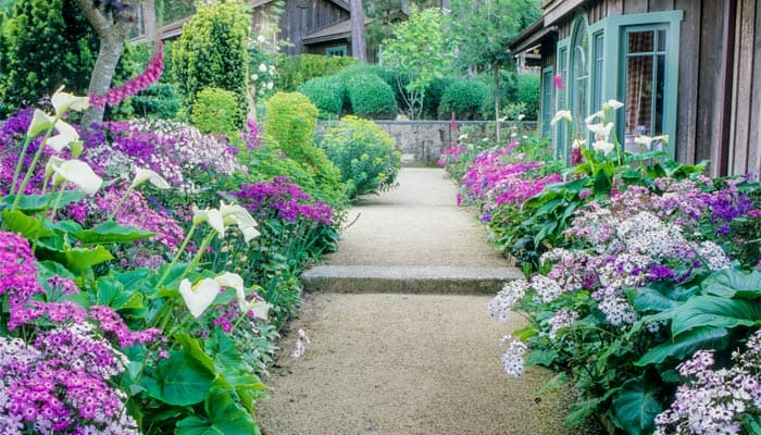 Color Coordinate Your House And Garden